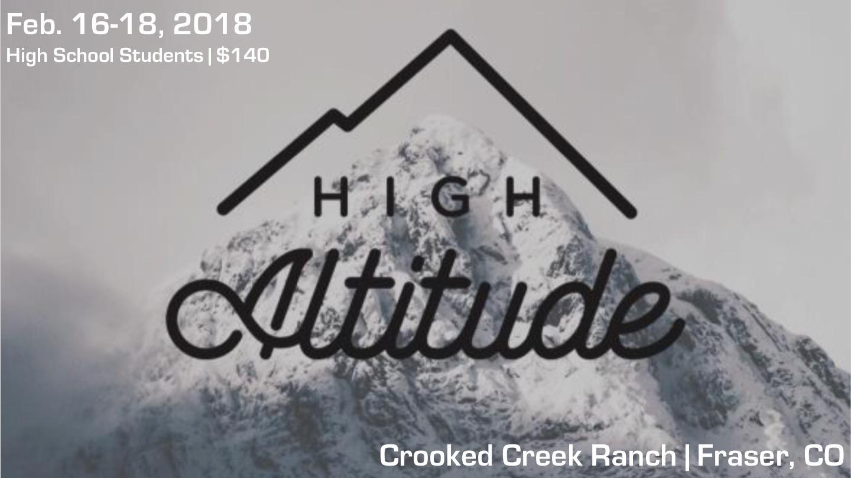 High Altitude High School Wintercamp LifePointe Church - Altitude here